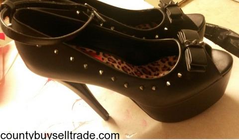 """6"""" platform heels"""