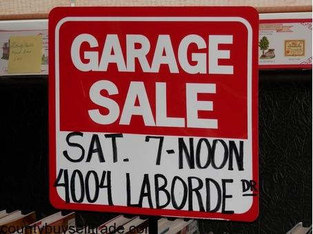 Indoor/Outdoor Garage Sale